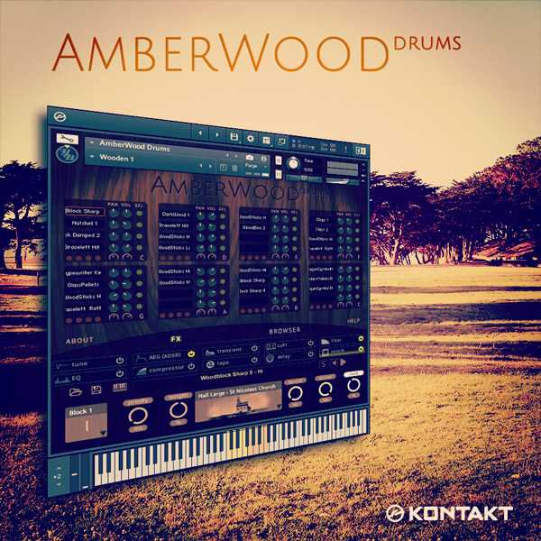 AmberWood Drums #AWD