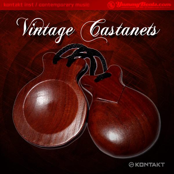 Vintage Castanets